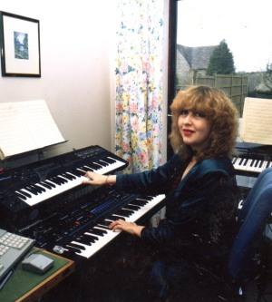 Annie Locke at keyboards image