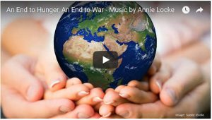 Music Videos | Annie Locke Music | An End to Hunger, An End to War image