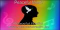 Annie Locke website | Peaceful Radio logo