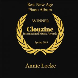 Annie Locke Clouzine Best New Age Piano Album Winner 2019 image